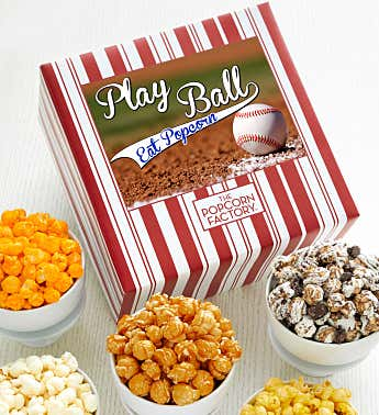 Packed With Pop™  Play Ball Eat Popcorn