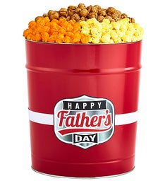 Happy Father's Day Popcorn Tins