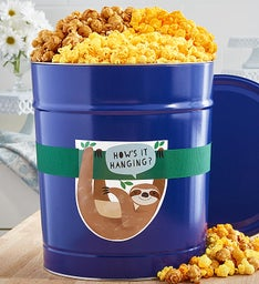 How's It Hanging Popcorn Tins