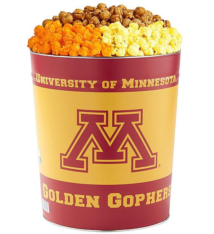 Gallon University of Minnesota Flavor Popcorn Tins
