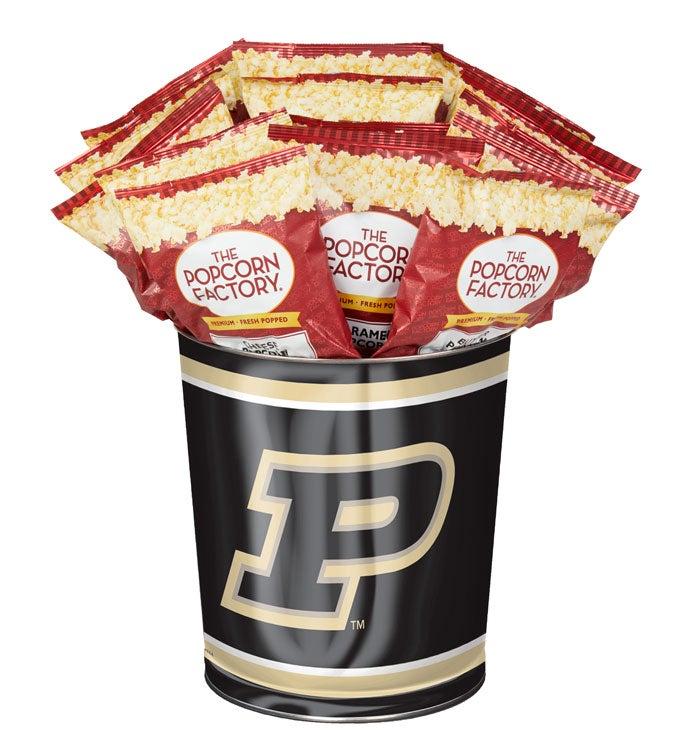Gallon Purdue University Flavor Popcorn Tins