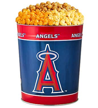 Los Angeles Angels 3-Flavor Popcorn Tins
