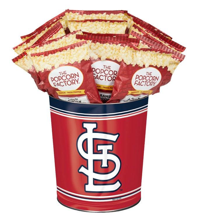 St Louis Cardinals Flavor Popcorn Tins