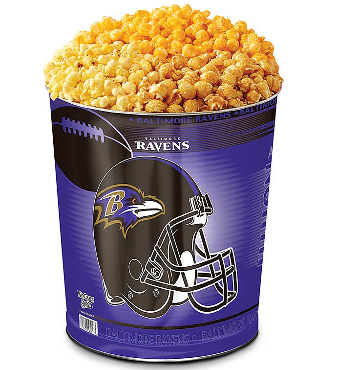 Baltimore Ravens Flavor Popcorn Tins