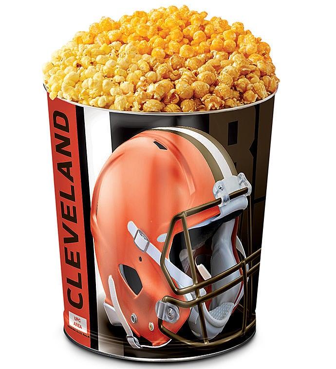 Cleveland Browns Flavor Popcorn Tins
