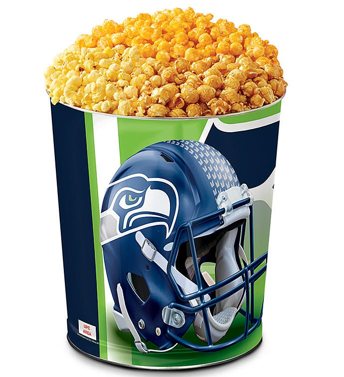 Seattle Seahawks Flavor Popcorn Tins