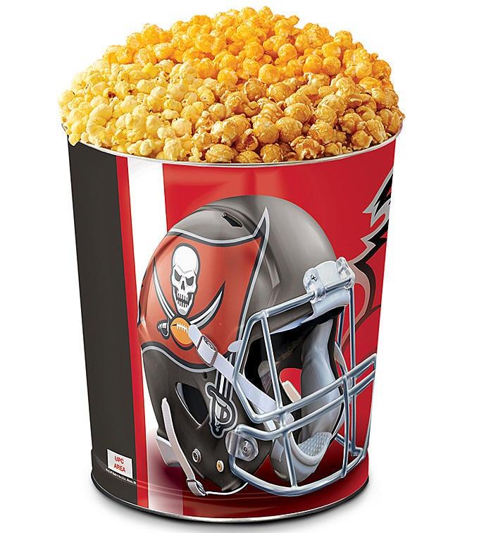 Tampa Bay Buccaneers Flavor Popcorn Tins