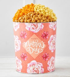 Blooms For Mom Popcorn Tins