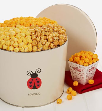 2 Gallon Love Bug 3-Flavor Popcorn
