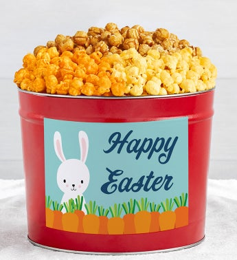 Tins With Pop™ Happy Easter Bunny With Carrots