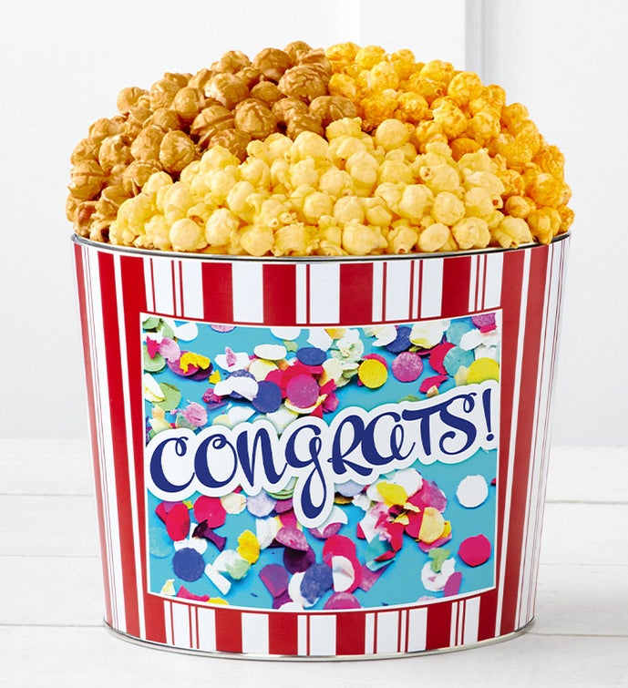 Tins With Pop® Congratulations Confetti