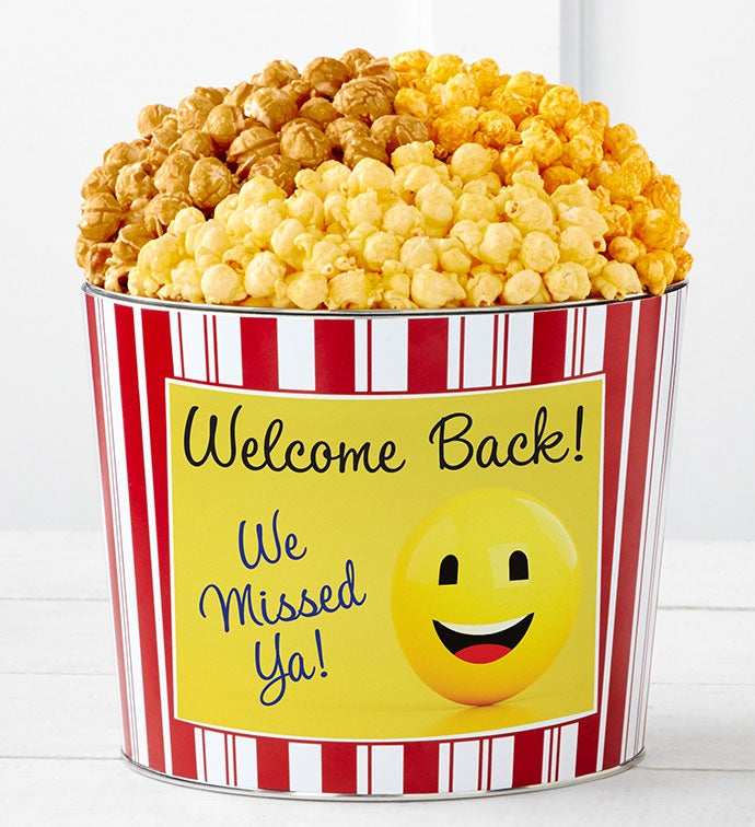 Tins With Pop® Welcome Back Smiley