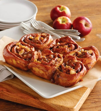 wolferman s caramel apple sticky buns made from scratch in