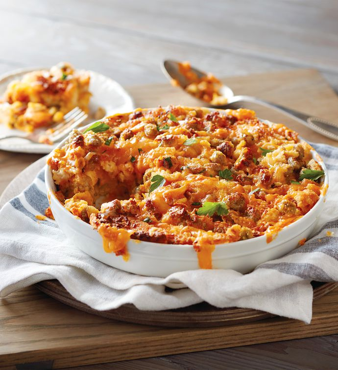 Sausage and Cheese Casserole
